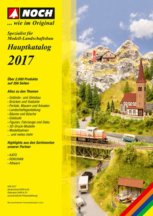 Noch 71171 - NOCH Catalogue 2017 without prices