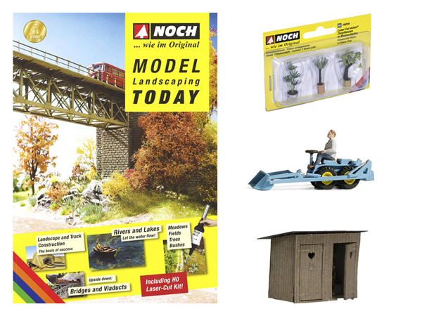 Noch 71919 - Super Econ.Pack Magazine Model Landscaping Today