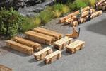 Piles of Planks, 8 pcs.