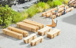 Piles of Planks