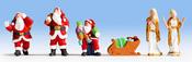 Santa Claus and Angels