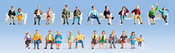 XL Figures Set Sitting People