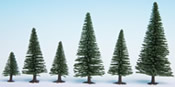 Model Fir Trees, 25 pieces, 3.5 - 9 cm high