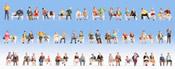 Mega Economy Figures Set Sitting People