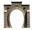 Tunnel Portal, single track, 10 x 10 cm