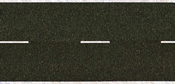 Asphalt Road, black, 100 x 4,8 cm