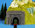 Scale Replacement Portal, Single Track,