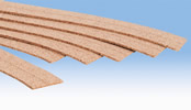 Cork Trackbed, 6 pcs.