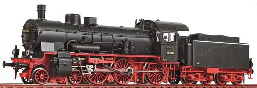 Oskar OS1801 - German Steam Locomotive Br 38 3862 of the DRG