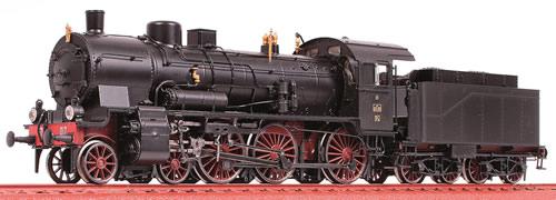 Oskar OS1806 - Italian Steam Locomotive Gr 675,017 of the FS