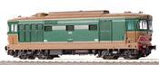 Italian Diesel-Electric Locomotive D 443 1001 FIAT of the FS