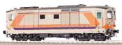 Italian Diesel-Electric Locomotive D 445 1042 Series II of the FS