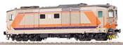 Italian Diesel-Electric Locomotive D 445 1039 Series II of the FS