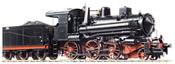 Italian Steam Locomotive Gr 623 Franco Crosti of the FS