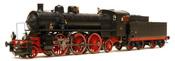 Italian Steam Locomotive Gr 685 393 of the FS