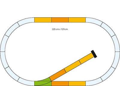 Piko 35301 - Siding Track Set