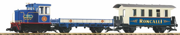 Piko 37154 - Starter set freight train Roncalli R / C, battery operated
