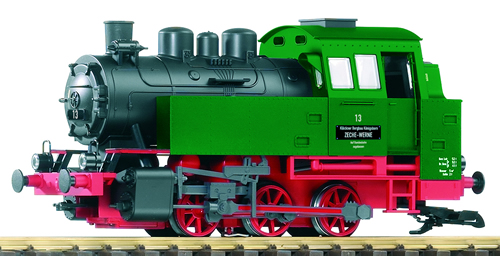 Piko 37201 - Industrial Loco BR80, Green/Red