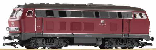 Piko 37510 - German Diesel locomotive BR 218 of the DB