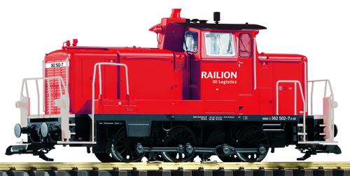Piko 37523 - DB Railion VI BR365 Switcher, Red