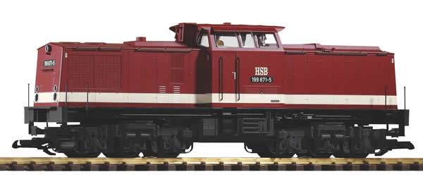 Piko 37543 - German Diesel Locomotive BR 199 Harz narrow-gauge railway