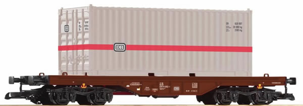Piko 37747 - Container carrier wagon of the DB