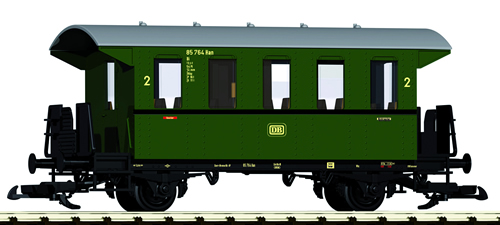Piko 37920 - 2-Axle 2. Cl. Coach, Green