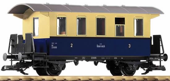 Piko 37923 - OeBB III 2-Axle 2./3. Cl. Coach, Blue/Beige