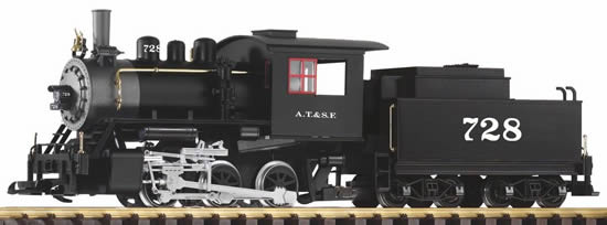 Piko 38204 - USA Steam Locomotive 0-6-0 with Tender of the SF