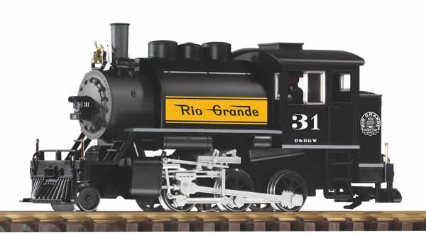 Piko 38207 - US Steam Locomotive 2-6-0T D & RGW