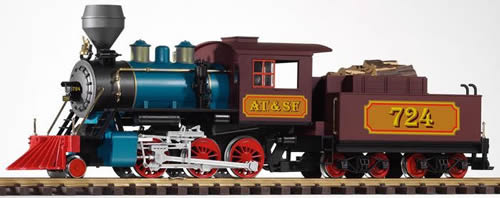 Piko 38217 - Steam Locomotive with Tender Mogul of the AT&SF (with Sound)