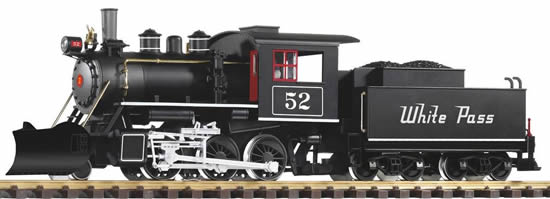 Piko 38219 - USA Steam Locomotive Mogul with Tender of the WP&YR