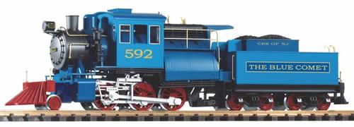 Piko 38241 - USA Steam Locomotive 2-6-0 Camelback with Tender (DCC Sound Decoder)