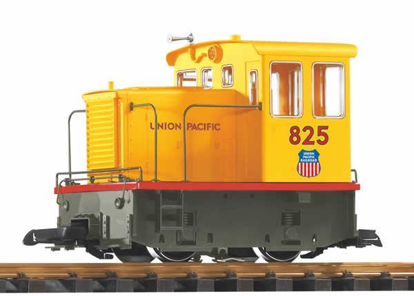 Piko 38504 - USA Diesel Locomotive GE-25Ton UP Flag, RC