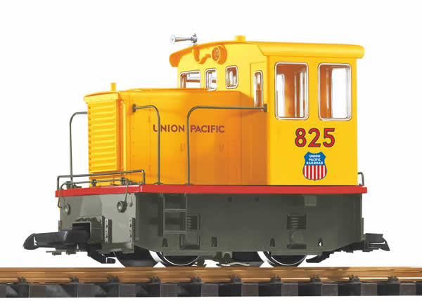 Piko 38504 - US Diesel Locomotive GE-25Ton UP Flag, RC