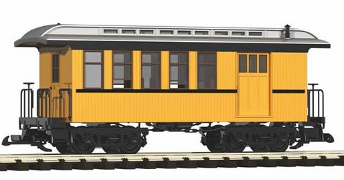 Piko 38601 - D&RGW Wood Combine, Yellow