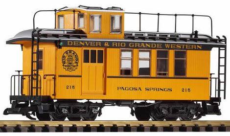 Piko 38602 - D & RGW Caboose