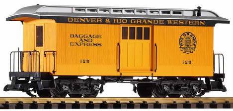Piko 38603 - D & RGW Baggage Car