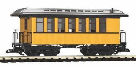 Piko 38610 - D&RGW Wood Coach 320, Yellow