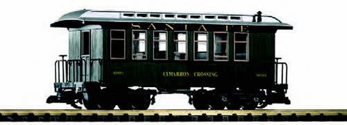 Piko 38611 - USA Passenger Wood Coach 30103 of the SF