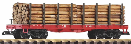 Piko 38713 - Flatcar w/Log Load
