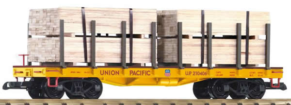 Piko 38757 - Flat Car with wood loads