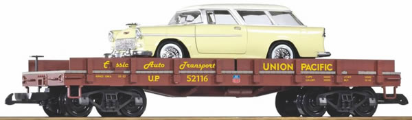 Piko 38769 - Car transport car loaded with Chevy Nomad
