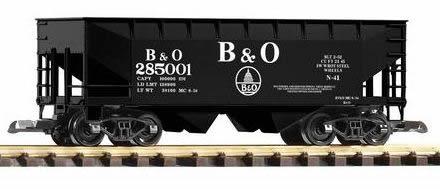 Piko 38829 - B&O Offset Hopper 825001, Black