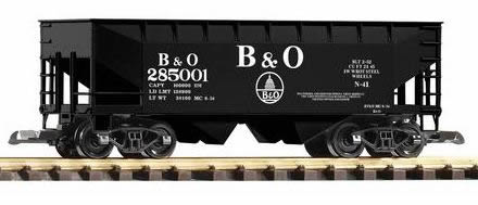 Piko 38829 - B&O Offset Hopper 825001, Black
