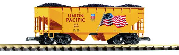 Piko 38919 - Flag Hopper Car w/Coal Load