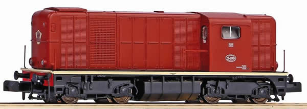 Piko 40426 - Dutch Diesel locomotive Rh 2400 with L light of the NS
