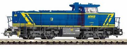 Piko 47224 - German Diesel locomotive series G 1206 of the MWB