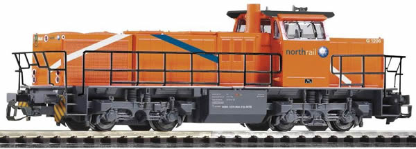 Piko 47229 - Diesel Locomotive G 1206 Northrail