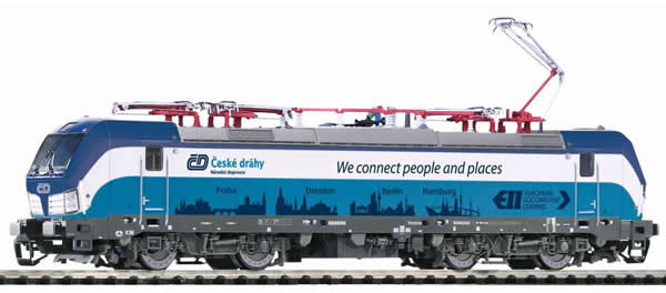 Piko 47385 - Czech Electric Locomotive Vectron Prag-Berlin-Hamburg of the CD
